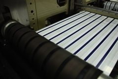 Innovize offers high-speed, roll-fed flexographic printingInnovize offers high-speed, roll-fed flexographic printing with ultraviolet or solvent cured inks,