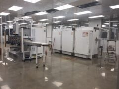 Presses in Clean room