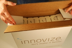 "Instead of furnishing this product on a roll, Innovize ""Fan Folds"" it and prepares it for splicing. Our box becomes a ""cartage"" for our customer's automated equipment (eliminating roll change time for this component part) and increasing their daily output. Custom solutions like this are the result of our desire to understand your business and work with you to provide more value in our partnership."